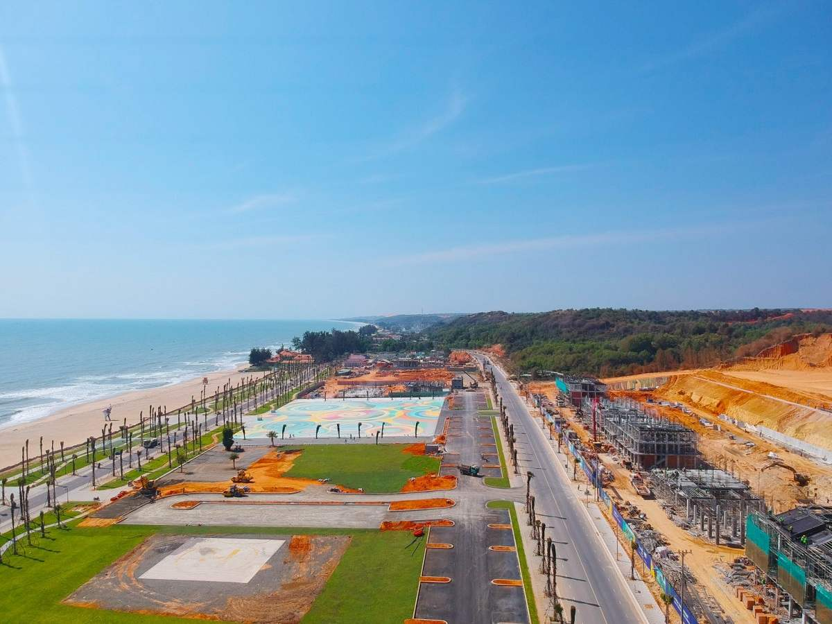 Công viên biển 16ha tại NovaWorld Phan Thiết