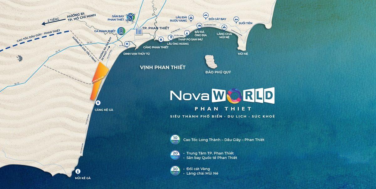 vị trí novaworld phan thiết